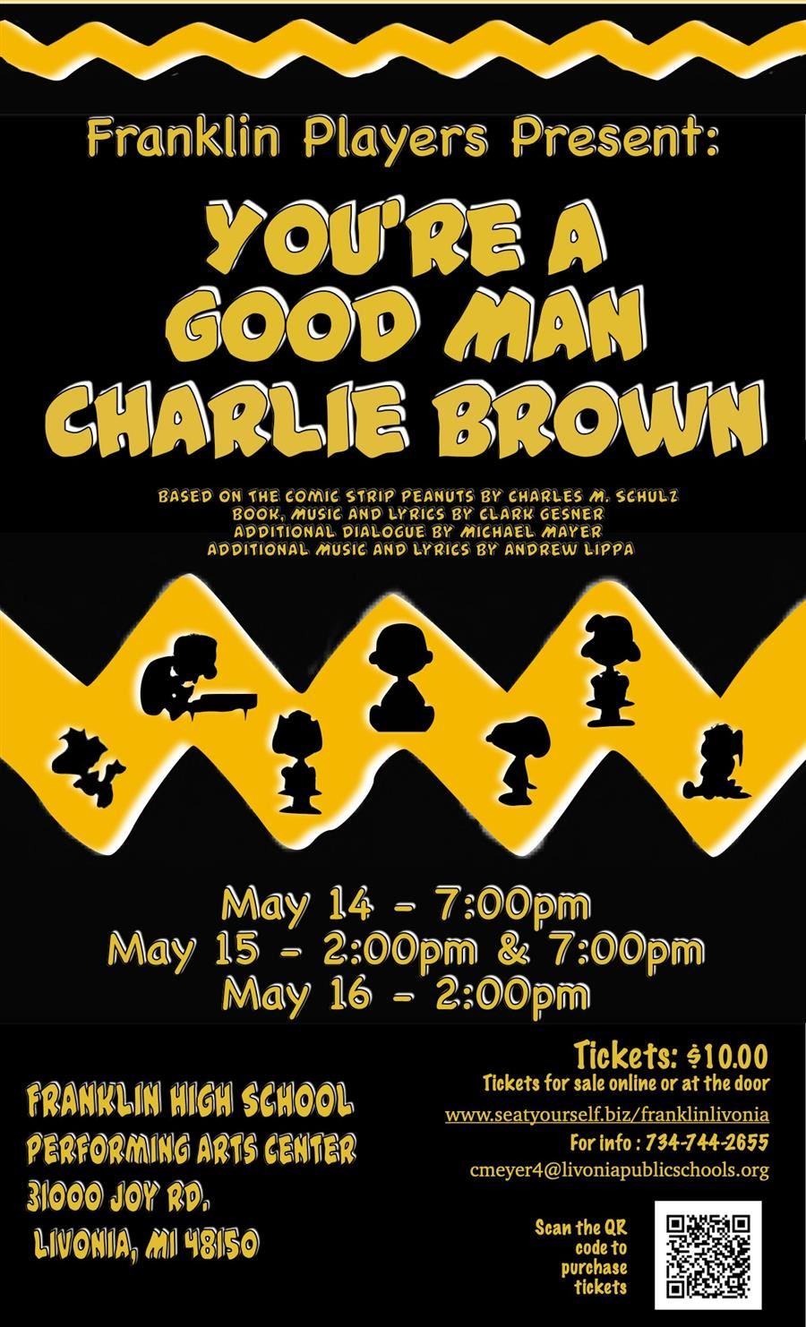 Franklin Players Present: You're A Good Man Charlie Brown
