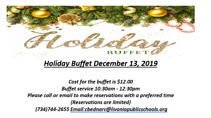 Patriot Inn Holiday Buffet