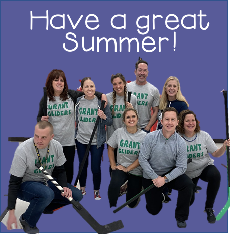 Staff saying have a great summer!