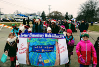 Hoover Rockets participate in Livonia Holiday Parade