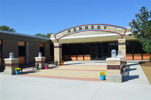Exterior of Kennedy Elementary School