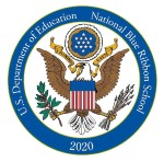 Blue Ribbon School Emblem