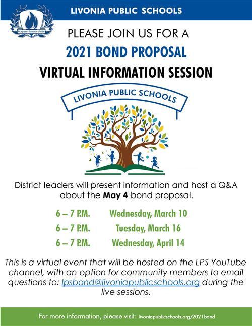 bond meeting flyer