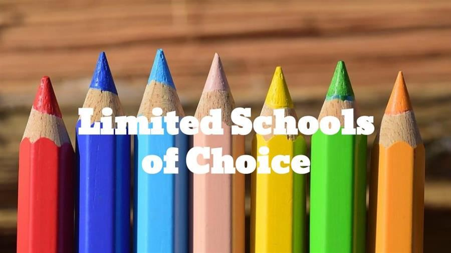 Limited Schools of Choice 2021-2022