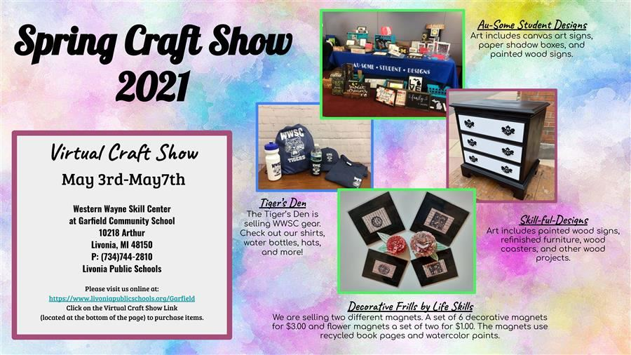 WWSC CRAFT SHOW FLYER