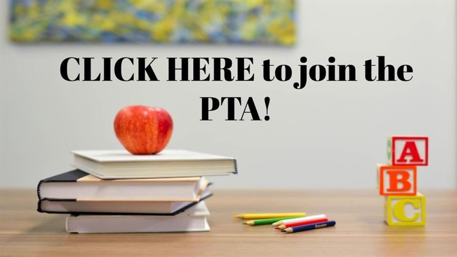 Photo button that links to the PTA membership website