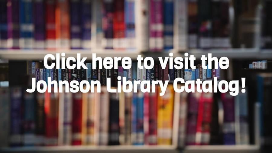 Photo button of johnson library catalog link