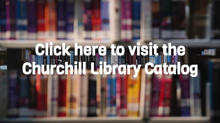 photo button for churchill library catalog