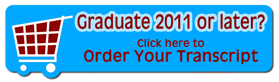 photo button linking to transcript order website for grads 2011 or later